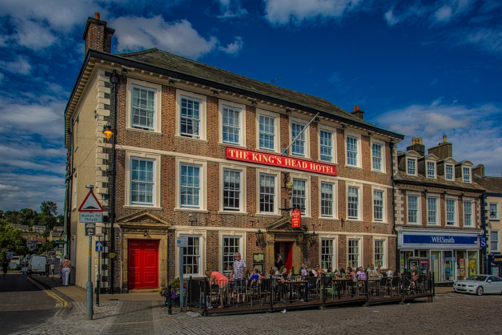 The Kings Head Hotel Richmond Yorkshire Part Of The Coaching